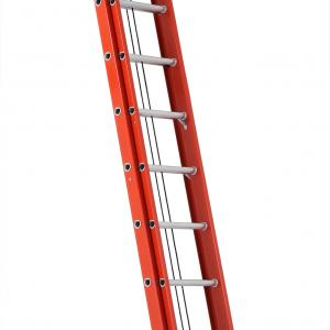"Louisville Ladder FE3240 40 ft. Fiberglass ""D"" Rung Extension Ladder, Type IA, 300 Lbs Load Capacity"