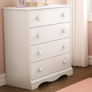 South Shore Angel 4-Drawer Chest, Multiple Finishes