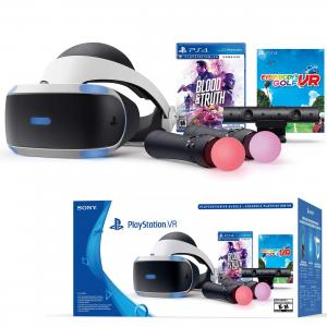 PlayStation VR Bundle with Blood & Truth and Everybody's Golf