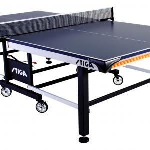 STIGA Tournament Series 520 Tournament-Grade Indoor Table Tennis Table with Premium Clipper Net and Post Included