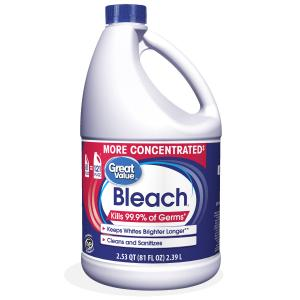 Great Value Concentrated Fabric Protection Bleach, 81 fl oz