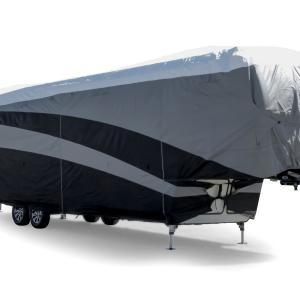 Camco 56142 Ultraguard Supreme RV Cover – Fits Fifth Wheel Trailers 23′-25′