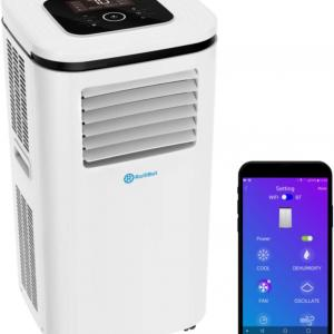 Alexa-Enabled RolliCool 110H-20 14,000 BTU Portable Air Conditioner with Dehumidifying & Mobile App