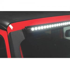 07-C Wrangler JK Luminix LED Kits 50″ Luminix Light Bar with Roof Bracket