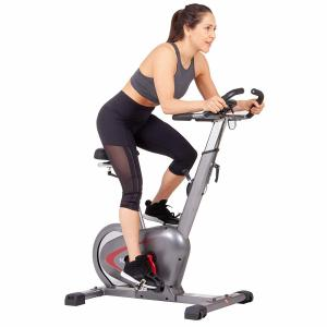 Body Rider Indoor Upright Bike with Rear Drive Flywheel