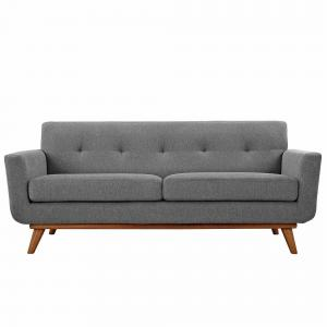Modway Engage Upholstered Tufted Loveseat, Multiple Colors