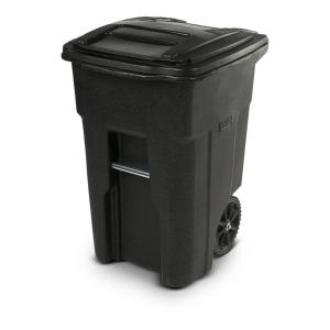 Toter 48 Gallon Trash Can Blackstone with Wheels and Lid