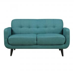 Picket House Furnishings Hailey Loveseat in Teal