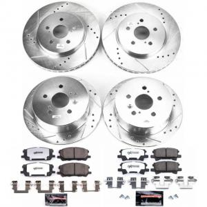 Power Stop Front and Rear Z36 Truck & Tow Brake Kit K4530-36