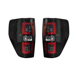 RECON 264368BK Ford F150 & RAPTOR For 09-14 OLED TAIL LIGHTS – Smoked Lens