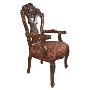 Design Toscano The Isabella Ornate Armchair