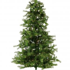 Fraser Hill Farm 12-Ft. Southern Peace Pine Artificial Christmas Tree with Smart String Lighting