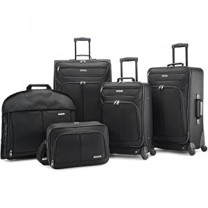 American Tourister 5-Piece Softside Travel Set, Luggage Set, Five Pieces