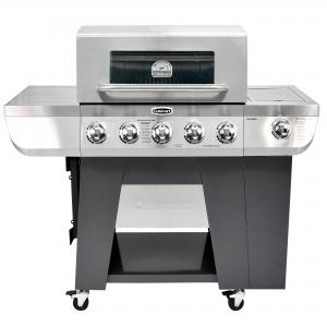Cuisinart 3-In-1 Stainless Five-Burner Gas Grill with Side Burner