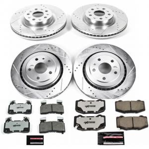 Power Stop Front and Rear Z26 Street Warrior Brake Pad and Rotor Kit K7226-26