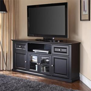 Crosley Furniture Corner TV Stand for TVs up to 60″