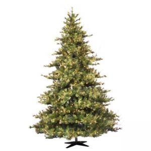 Vickerman 10′ Mixed Country Pine Artificial Christmas Tree with 1450 Clear Lights