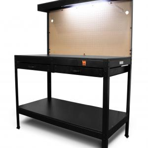 WEN 48-Inch Workbench with Power Outlets and Light, WB4723