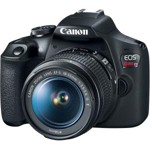 Canon EOS Rebel T7 EF18-55mm + EF 75-300mm Double Zoom KIT T7 EF18-55mm + EF 75-300mm Double Zoom KIT