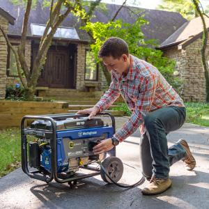 Westinghouse WGen3600 Portable Generator – 3600 Rated Watts & 4650 Peak Watts – RV Ready – Gas Powered – CARB Compliant