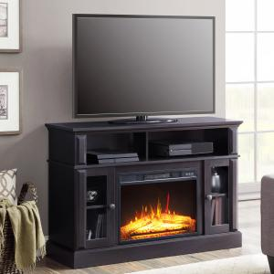 Whalen Barston Media Fireplace for TV's up to 55 inches, Multiple Finishes