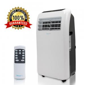 SereneLife SLPAC10 – Portable Air Conditioner – Compact Home A/C Cooling Unit with Built-in Dehumidifier & Fan Modes, Includes Window Mount Kit (10,000 BTU)