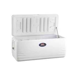 Coleman 150 Quart Heritage XP Marine Cooler, 223 Can, White