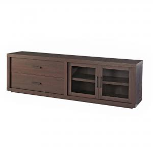 Better Homes & Gardens Steele TV Stand for TV's up to 80″, Espresso