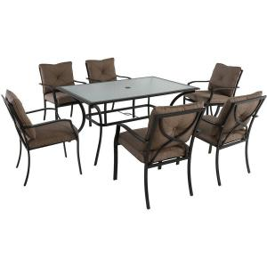 Hanover Palm Bay 7-Piece Outdoor Dining Set