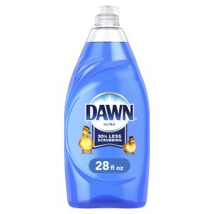 Dawn Ultra Dishwashing Liquid Dish Soap, Original Scent, 28 fl oz