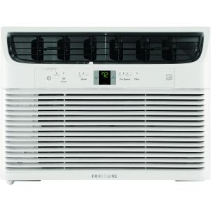 Frigidaire Gallery Energy Star 15,000 BTU 115V Cool Connect Smart Window Air Conditioner with Wi-Fi Control, White