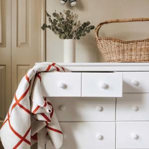 Graco Benton 6 Drawer Dresser White