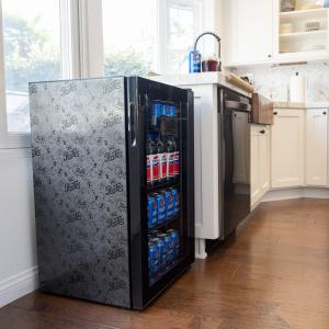 Pepsi Beverage Refrigerator and Cooler by NewAir, Vintage Edition, AB-1200BP