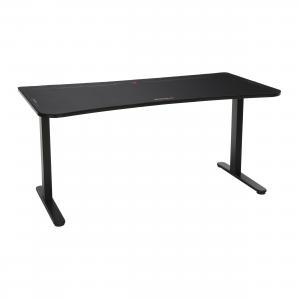 RESPAWN 63″ Gaming Table with Gaming Mouse Pad, Gaming Computer Desk, in Black (RSP-1063-BLK)