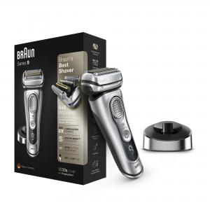 Braun Series 9 9330s Mens Wet Dry Electric Shaver with Charging Stand