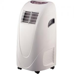 Global Air YPL3-10C – 6,500-BTU (10,000 BTU ASHRAE) 3 in 1 Portable Air Conditioner with Dehumidifier, Fan and Remote