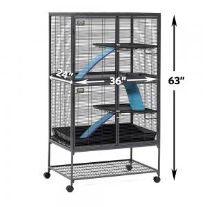MidWest Deluxe Critter Nation Double Unit Small Animal Cage