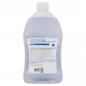 (2 pack) Equate Clear Hand Soap Refill, 56 Oz