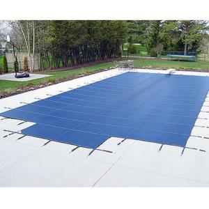 WaterWarden Inground Pool Safety Cover, Fits 18' x 36 End Step, Center