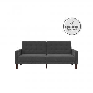 Better Homes & Gardens Porter Fabric Tufted Sofa Bed, Multiple Colors