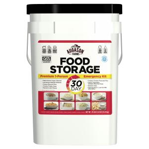 Augason Farms 1-Person 30-Day Emergency Food Supply – QSS-Certified