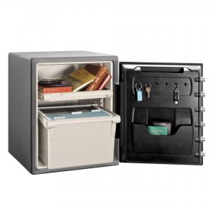 SentrySafe SFW205DPB Fire and Water-Resistant Safe with Dial Lock, 2.0 Cu. ft.