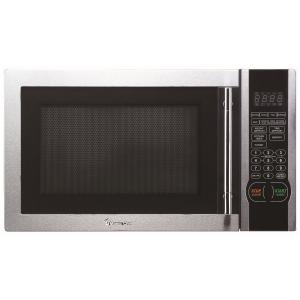Magic Chef 1.1-Cu. Ft. 1000W Countertop Microwave Oven with Stylish Door Handle