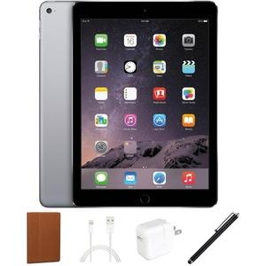 eReplacements Apple iPad Air 9.7 Tablet 32GB iOS Bundle Space Gray Refurbished