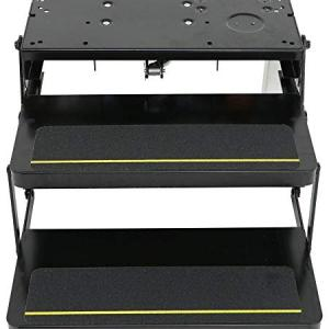Power Gear Kwikee 372261 Automatic Electric RV Steps with 24″ Double Tread & Motor, Control Unit & Switch Kit