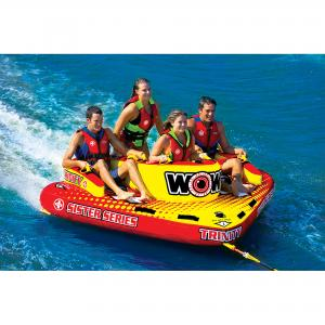 WOW World Of Watersports 15-1080 Trinity Sister Series 4-Rider Towable