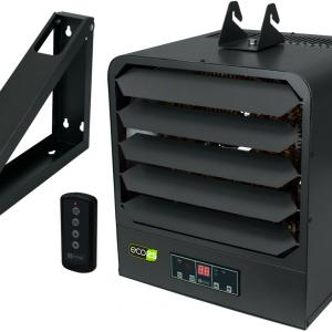 King Electric 2-Stage Garage Heater, 5KW / 240V, Gray, KB2405-1-B2-ECO