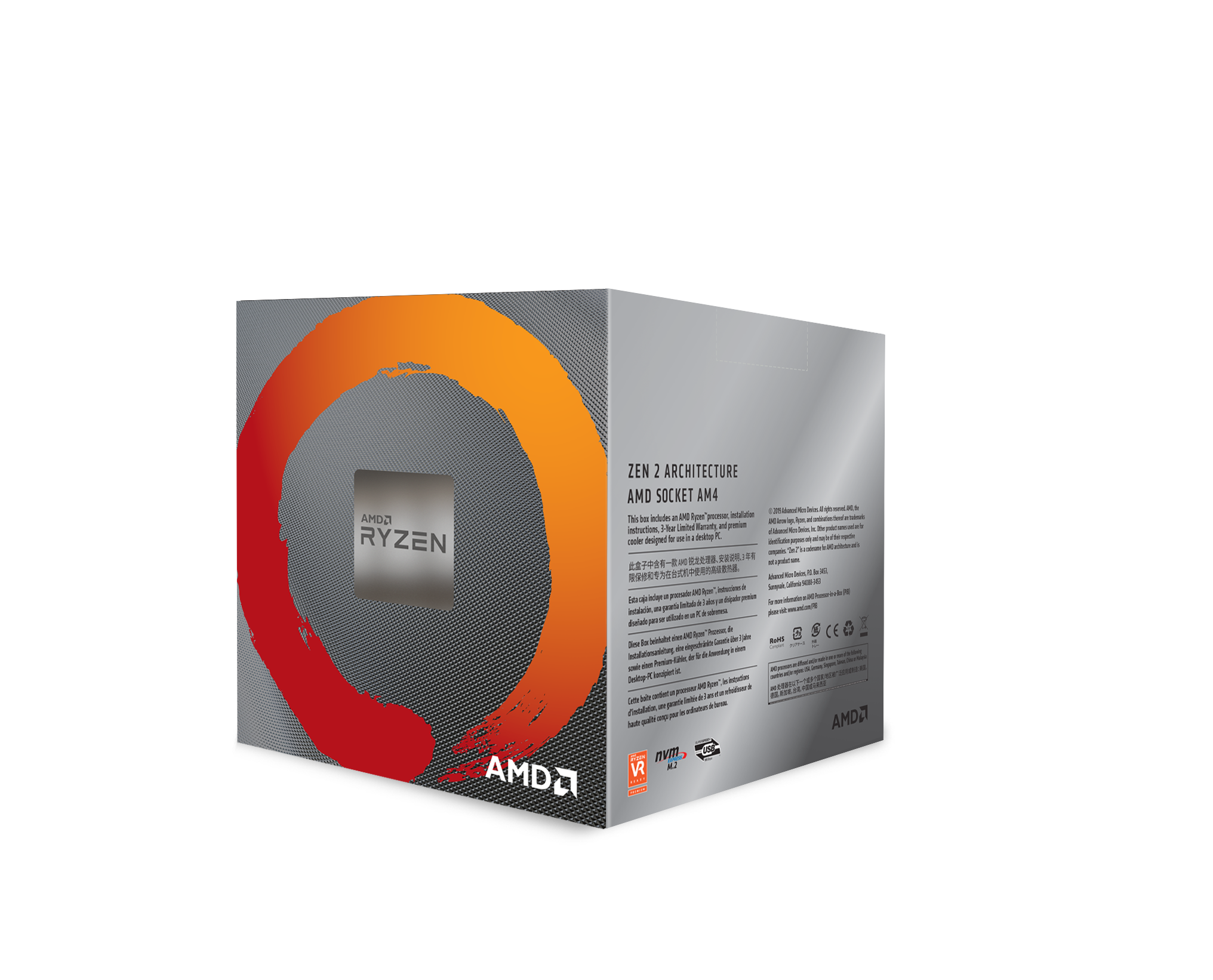 AMD Ryzen 7 3800X 8-Core, 16-Thread 4.5 GHz AM4 Processor