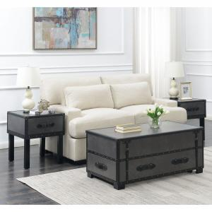 Picket House Furnishings Newport 3PC Occasional Table Set-Table & Two End Tables