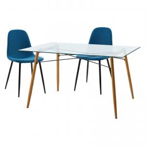 Minimalista Table with Set of 2 Chairs